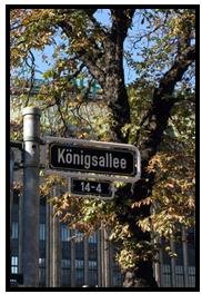 Shopping und Hotels auf der Königsallee Düsseldorf