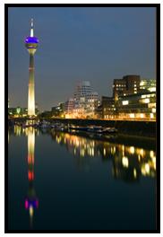 Restaurants und Hotels im Medienhafen Düsseldorf